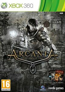 Arcania-the-Complete-Tale-Xbox-360-original-game-brand-new