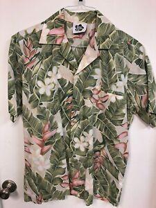 Vintage Hilo Hatties Men/'s Hawaiian Shirt Size Medium