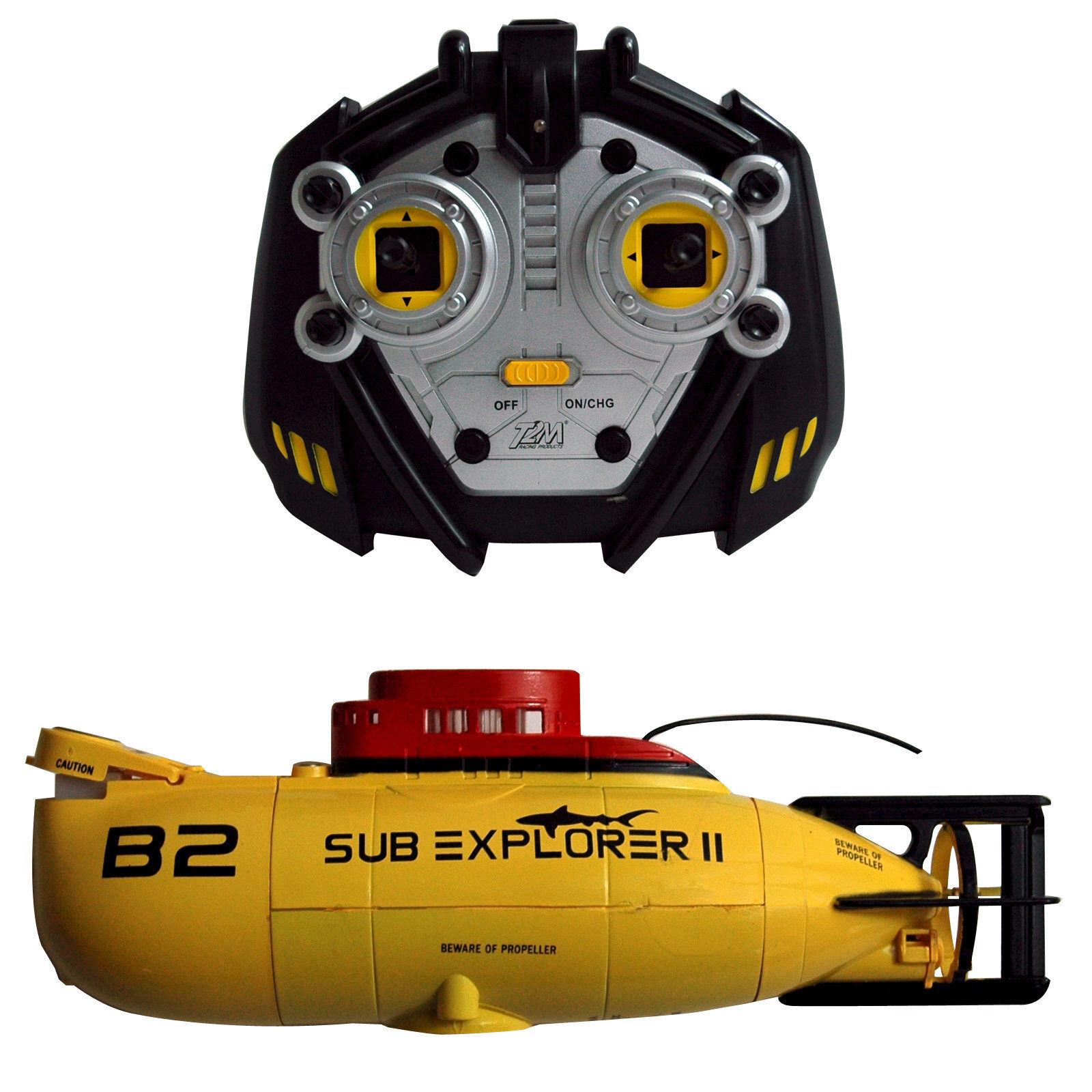 Teledirigido Barco de U Sub Explorador II Mini Electro Barco de U