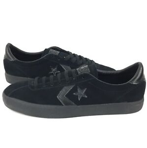 Details about New Converse CONS Break Point Mono Suede Ox Size 9.5 Men Black Suede Shoe
