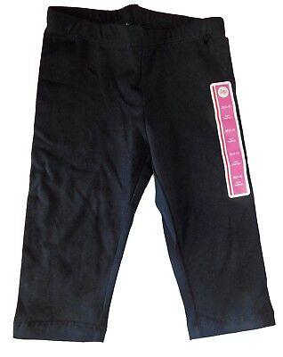 Circo Girls Knit Capri Leggings Black Size 4 5