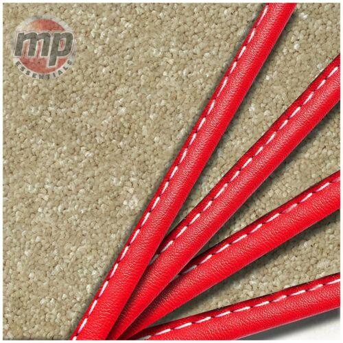 Fixations Conçu pour s/'adaptent parfaitement JAGUAR XF 08-12 Beige tapis de voiture Tapis de sol