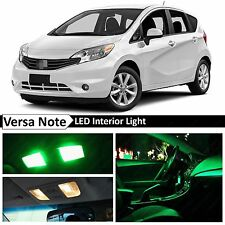 8x Green Interior LED Light Package Kit for 2015 & up Versa Note