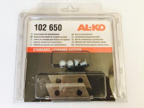 SHREDDER  BLADES 102650 102-650 FOR ALKO H1300S GENUINE ALKO H1300 S CHIPPER