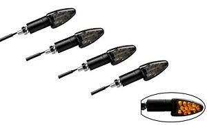 LED-BLINKER-MINI-RUSH-MOTORRAD-QUAD-ATV-UNIVERSAL-GETONT-SCHWARZ-4-STUCK