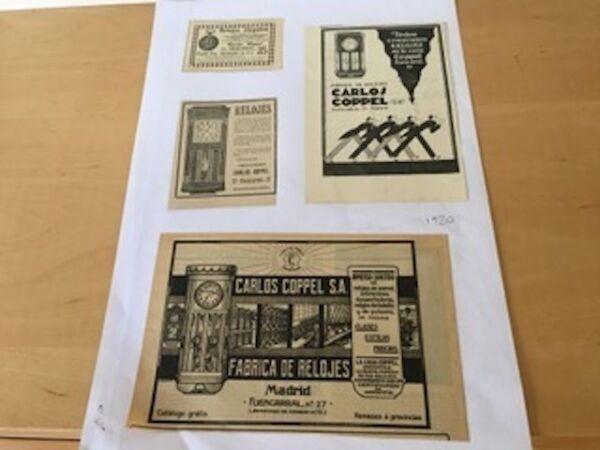 2019 Neuer Stil Vintage - Carlos Coppel - 4 Kuverts - Item Für Collectors Warm Und Winddicht