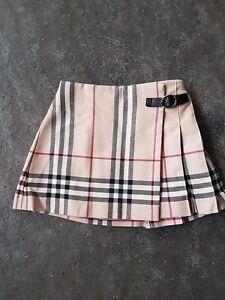 Détails sur jupe plissee burberry 2 ans