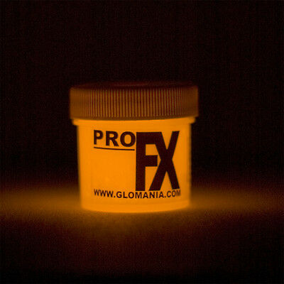 Glow in the Dark ORANGE Paint 1-2oz pot, star, Cosmic paint, FREE KEYRING