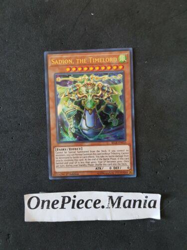 Yu-Gi-Oh the Timelord BLLR-EN033 Ultra Rare Sadion