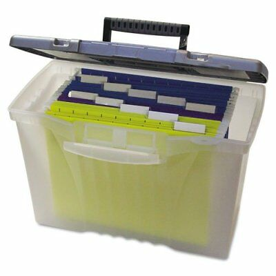Home & Garden Legal/letter Storex Portable File Box With Organizer Lid Other Home Organization