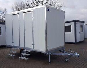 Wc Anhänger Toilettenwagen Mobile Toilette Mit Dusche Duschwagen Wc