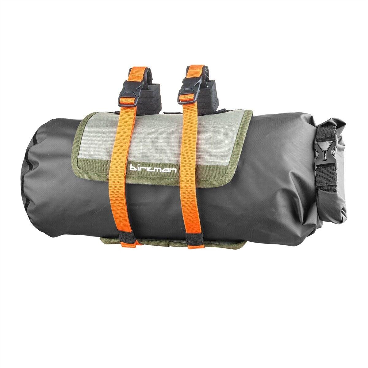 Packuomo helebar pack borsa 9,5lt verde Birzuomo travel