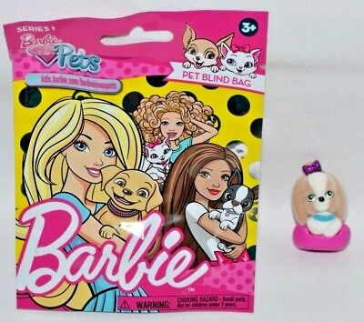 1x  Barbie Pets Series 2 Pets Blind Bag Figures New Sealed