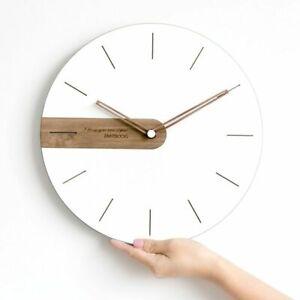Wooden-Wall-Clock-Home-Decorations-Quartz-Modern-Living-Room-Simple-Watch-Clocks