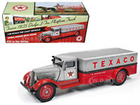 1935 Dodge 3-ton Truck texaco Series 33 Metal/red 1/38 Autoworld Cp7411