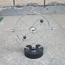 Newtons Cradle Balance Bumper Balls Physics Science Globe Desk Office Decoration