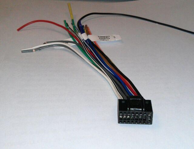 kenwood kdc bt652u kdcbt652u kdc bt752hd kdcbt752hd genuine wirekenwood wire  harness kdc 348u kdc bt645u kdc