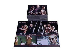 Battlestar-Galactica-set-complet-81-trading-cards-saison-1-complete-season-1-set