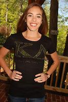 Kappa Delta Kd Sorority Rhinestone Bling Shirt Xs S M L Xl Xxl
