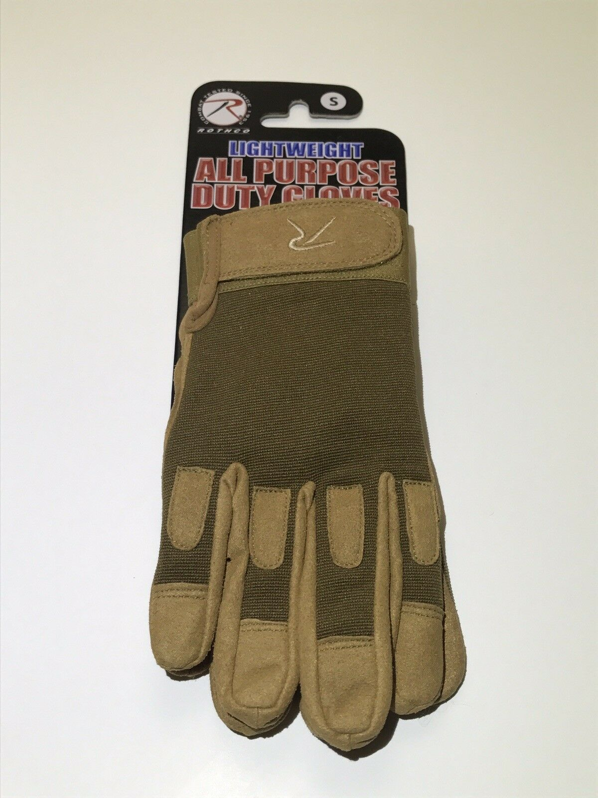 Rothco Lightweight All Purpose Duty Gloves Size Small 613902342118