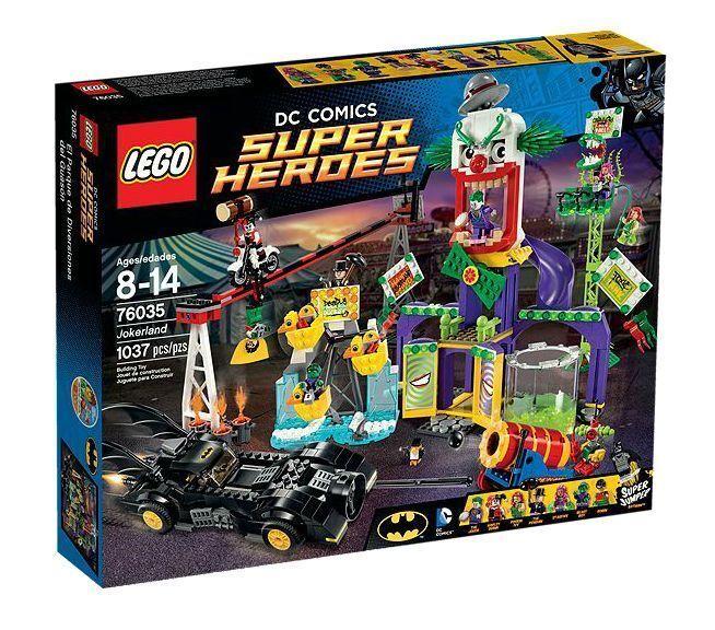 LEGO ® DC Comics Super Heroes 76035 Joker-pays Nouveau neuf dans sa boîte NEW En parfait état, dans sa boîte scellée Boîte d'origine jamais ouverte