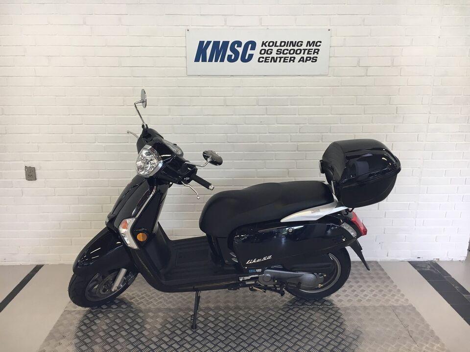Kymco Like 50 30 KM/T 4Takt, 2017, km