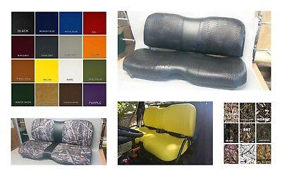 John Deere Gator Bench XUV 550 Seat Covers YELLOW 550 S4  or 25 Colors /& 2-tone