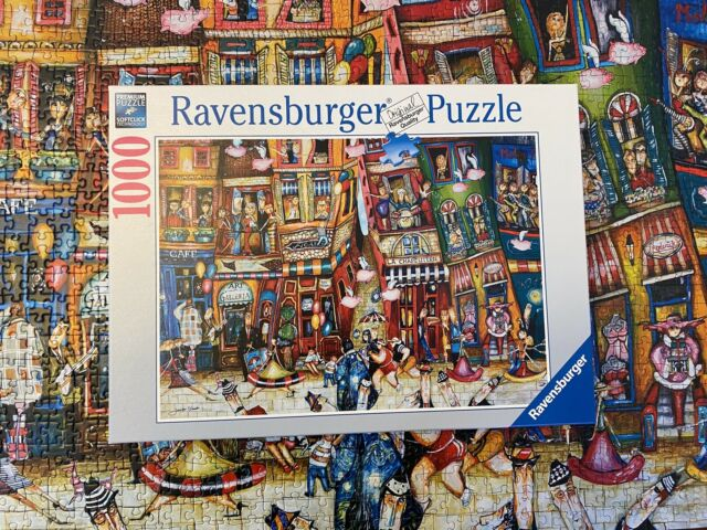 Ravensburger 1000 Piece When Pigs Fly Puzzle (excellent Condition)