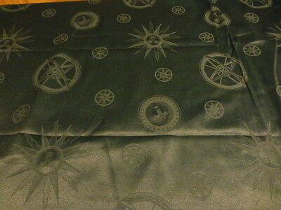 Tissu Vert Sapin ,neuf ,2m,80x2,25 Les Astres= Coussins ,tentures ,rideaux ????