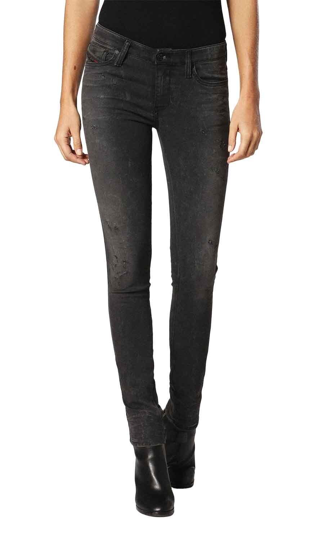 Diesel Skinzee-Ne 0684N Jeans Pantaloni women Jeans da Jogging Sportivo