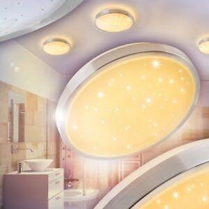 Details zu LED Lampe Badezimmer Raum Leuchte Beleuchtung Licht IP44 Lampen  Feuchtraum 18W