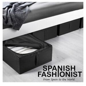 IKEA-SKUBB-Box-storage-black-44x55x19-cm