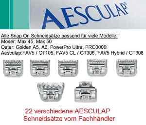 Aesculap Tête De Rasage / Outil Coupe Aussi Top Pour P. Ex. Moser Max 45/50.