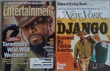Lot 2 Django Unchained Entertainment Weekly December 2012 New York February 2013