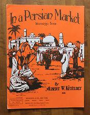 In a Persian Market Intermezzo Scene by Albert W Ketelbey Piano sheet music 1943