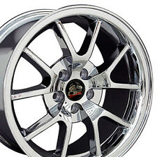"18"" Chrome FR500 Wheel 18x9 Rim Fits 94-04 Mustang® GT V8 V6 CP"