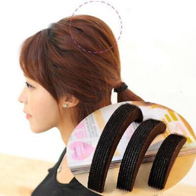 3Sizes Hair Styling Clip Stick Bun Maker Volume Base Bump Braid Insert Tool NICE