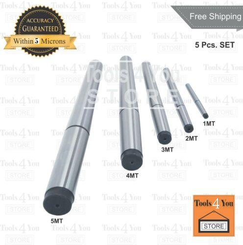 Lathe Alignment Test Bar 5 Piece Set Consisting Of 1MT 2MT 3MT 4MT /& 5MT Bar