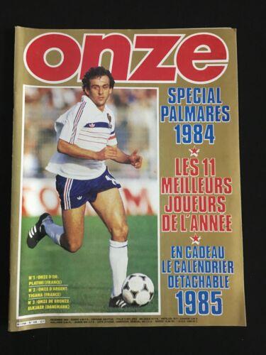 MAGAZINE ONZE Nº108 FRANCE-BULGARIE-NANTES-NANCY-LES 11 MEILLEURS JOUEURS 1984
