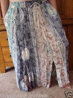 Tienda Ho Batik Rayon Split Skirt Os M L Xl 1x