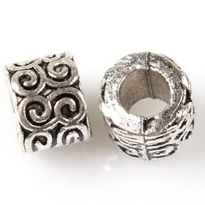 50-New-Alloy-European-Beads-Fit-Charms-Bracelets-8A0112
