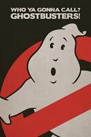 Ghost Busters Poster Logo No Sign Dan Aykroyd Bill Murray Never Hung