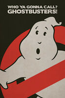 Ghost Busters Poster Logo No Sign Dan Aykroyd Bill Murray Never Hung