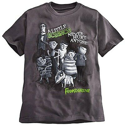 Disney FRANKENWEENIE Boys T Shirt SPARKY Victor EDGAR - TIM BURTON Organic Tee