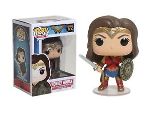 Funko Pop Heroes: Wonder Woman - Wonder Woman Vinyl Figure Item #12545