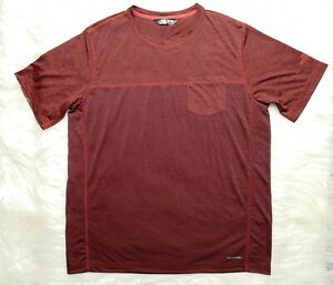 The-North-Face-Flash-Dry-Men-039-s-Red-T-shirt-Size-L-NWOT