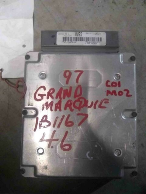 97 1997 Mercury Grand Marquis Engine Brain Box Ecm Ebx Pcm
