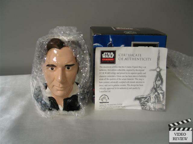 Han Solo Ceramic Figural Mug Brand New Applause Star Wars
