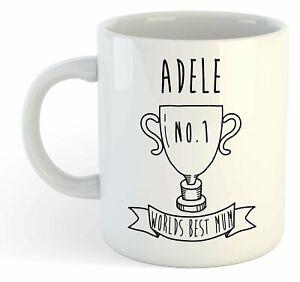 Adele - Monde Meilleure Maman Trophy Tasse - Pour Cadeau De Fête Des Mères , W4z64x1k-07234328-496133443