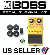 BOSS OD-1 OVERDRIVE SURVIVAL KIT GUITAR PEDAL GROMMET RUBBER O-RING SET OF 5